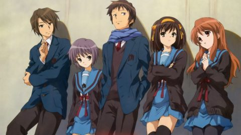 The Disappearance of Haruhi Suzumiya (Movie) (720p – 525MB )