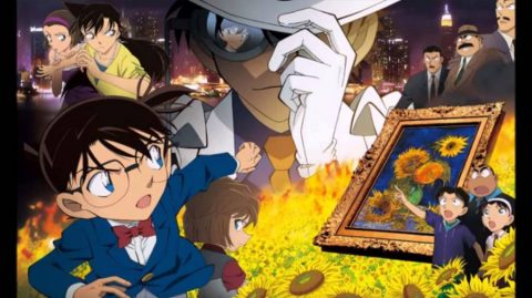 Detective Conan Movie 19: The Hellfire Sunflowers (720p| 500MB)