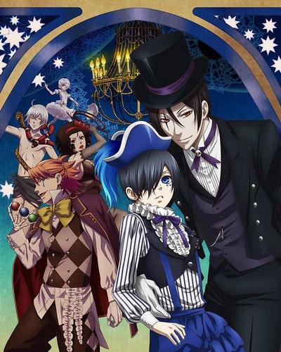 Download Kuroshitsuji: Book of Circus (Black Butler Season 3) Anime