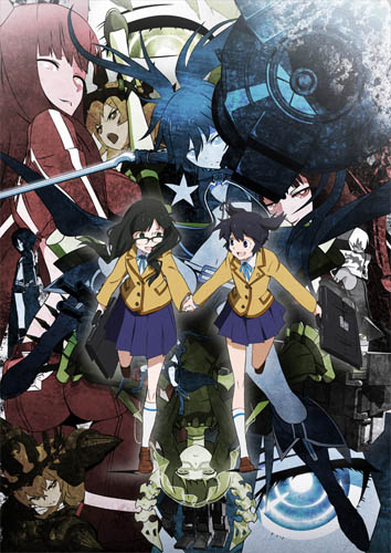 Download Black Rock Shooter (2012) Anime